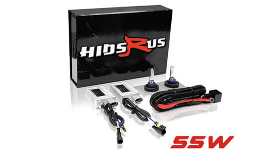 Honda Shadow Sprint 750 55W HID Kit