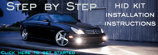 HID Kit Step by Step installation guides