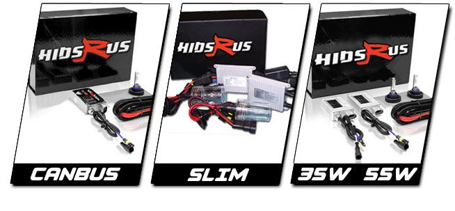 Spyder Can-Am HID Kit